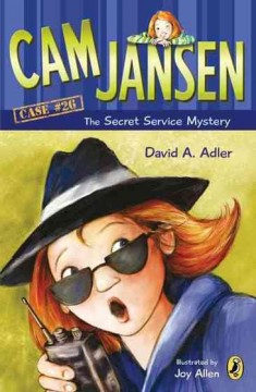 Cam Jansen and the secret service mystery cover image