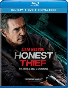Honest thief [Blu-ray + DVD combo] cover image