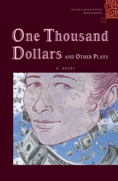 One thousand dollars and other plays cover image