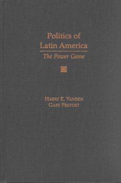 Politics of Latin America : the power game cover image