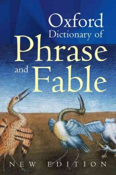 Oxford dictionary of phrase and fable cover image