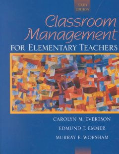 Classroom management for elementary teachers cover image