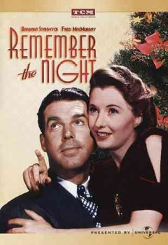 Remember the night cover image