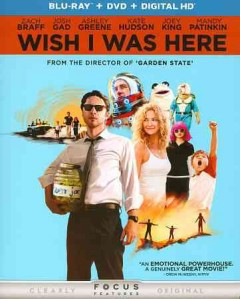 Wish I was here [Blu-ray + DVD combo] cover image