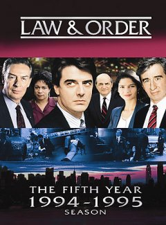 Law & order. Season 5 cover image