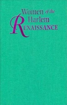 Women of the Harlem renaissance cover image