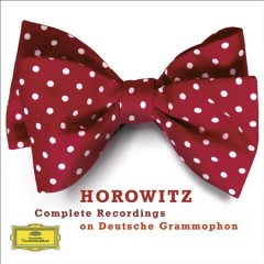 Horowitz complete recordings on Deutsche Grammophon cover image