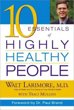 10 essentials of highly healthy people cover image