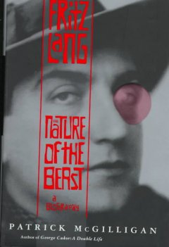 Fritz Lang : the nature of the beast cover image