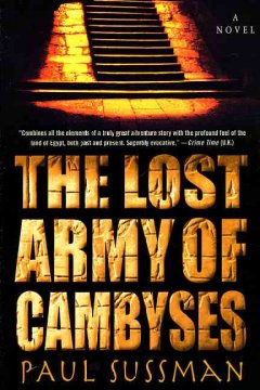 The lost army of Cambyses cover image
