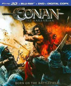 Conan the barbarian [3D Blu-ray + Blu-ray combo] cover image