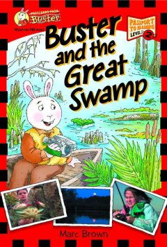 Buster and the great swamp cover image