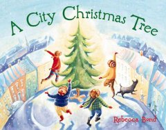 A city Christmas tree cover image