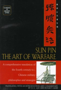 Sun Pin : the art of warfare cover image