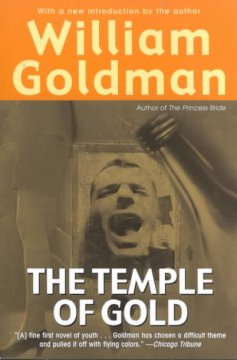 William Goldman's The temple of gold cover image