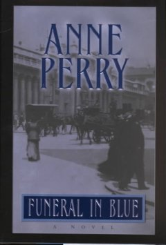 Funeral in blue cover image