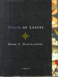 Mark Z. Danielewski's House of leaves cover image