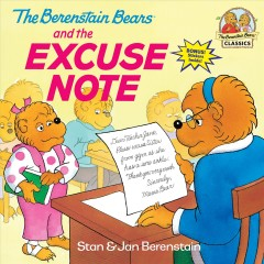The Berenstain bears and the excuse note cover image