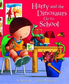Harry and the dinosaurs go to school cover image