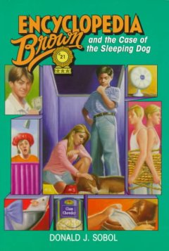 Encyclopedia Brown and the case of the sleeping dog cover image