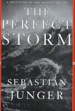 The perfect storm : a true story of men against the sea cover image