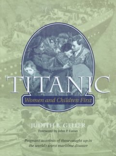 Titanic : women and children first cover image