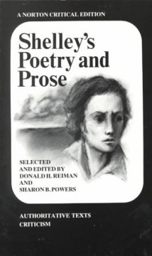 Shelley's Poetry and prose : authoritative texts, criticism cover image