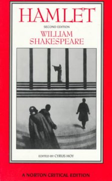 Hamlet : an authoritative text, intellectual backgrounds, extracts from the sources, essays in criticism cover image