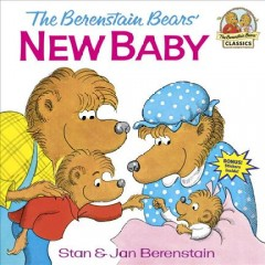 The Berenstain bears' new baby cover image