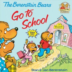 Berenstain bears go to school cover image
