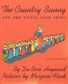The country bunny and the little gold shoes, as told to Jenifer cover image