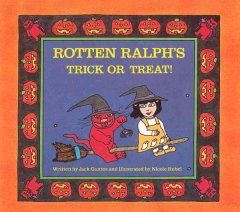 Rotten Ralph's trick or treat! cover image
