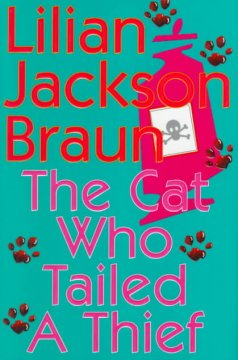 The cat who tailed a thief cover image