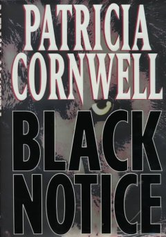 Black notice cover image