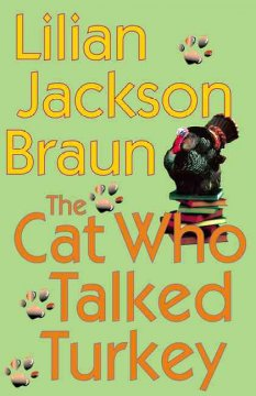 The cat who talked turkey cover image