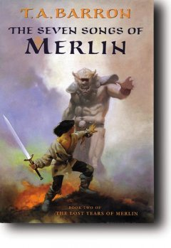 The seven songs of Merlin cover image