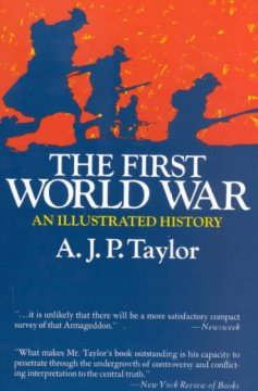 The First World War : an illustrated history cover image