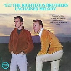 The Very best of the Righteous Brothers unchained melody cover image