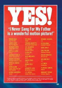 I never sang for my father cover image