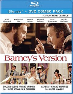 Barney's version cover image