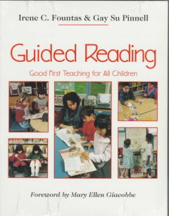 Guided reading : good first teaching for all children cover image