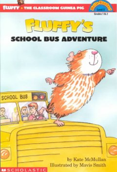 Fluffy's school bus adventure cover image