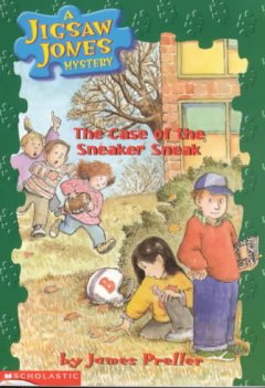 The case of the sneaker sneak cover image