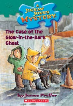 The case of the glow-in-the-dark ghost cover image