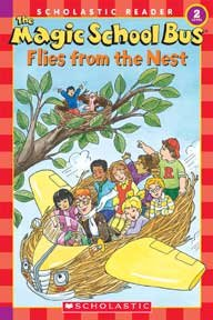 The magic school bus flies from the nest cover image