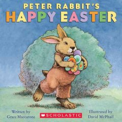 Peter Rabbit's happy Easter cover image