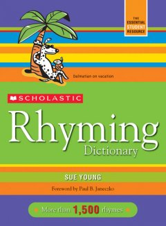 Scholastic rhyming dictionary cover image