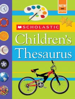Scholastic children's thesaurus cover image