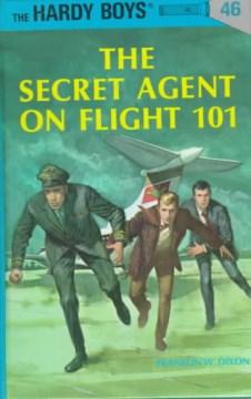 The secret agent on flight 101 cover image