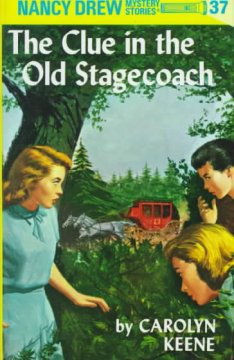The clue in the old stagecoach cover image